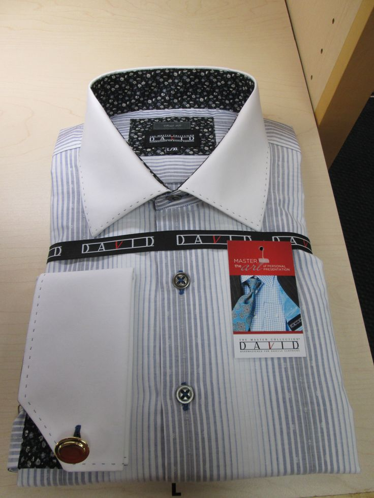 Dress shirt from David's Master collection.  A one-of-a-kind, hand constructed, special garment for your wardrobe! www.davelleclothiers.com
