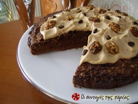 Μόκα brownie κέικ