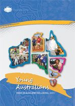 report cover - Young Australians: their health and wellbeing 2007