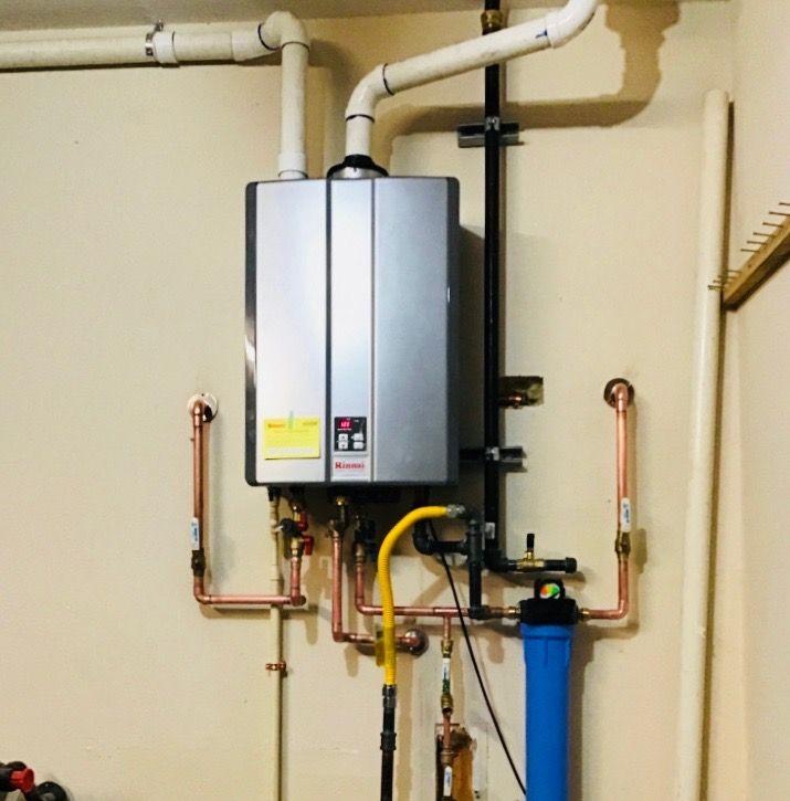 Installoftheweek We Never Get Tired Of Posting Kg S Rinnai Tankless Water Heaters Great Work Sir Keep Prov Tankless Water Heater Plumbing Water Heater