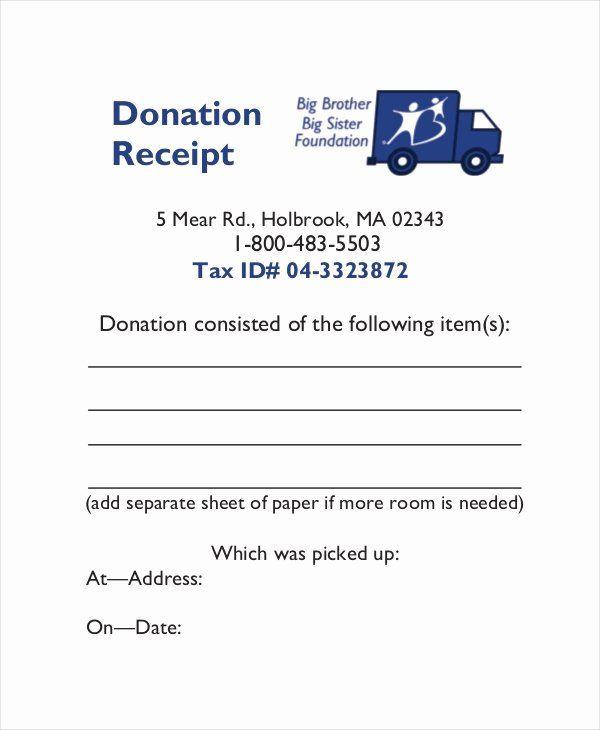 Donation Tax Receipt Template Inspirational 15 Receipt Templates Letter Template Word Donation Letter Template Printable Letter Templates