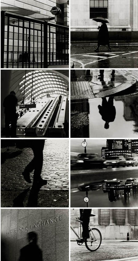 SQUARE e1: Current exhibition at the Townhouse, Spitalfields, London.  An exhibition of black and white silver gelatin prints of the Square Mile by Anthony Jones.