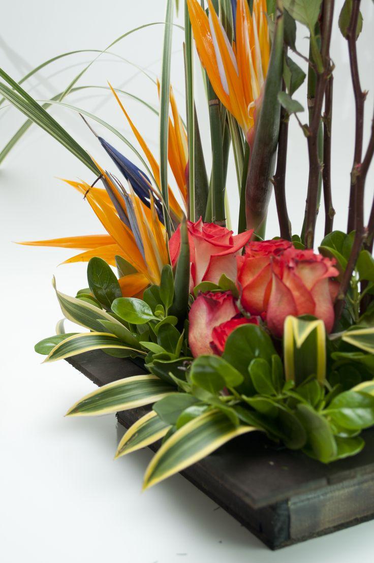 The 25 best arreglos florales exoticos ideas on pinterest - Arreglos florales artificiales centros de mesa ...
