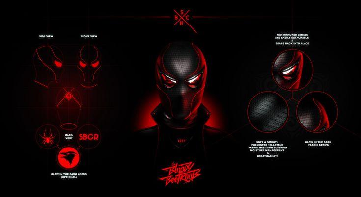 Mask design for Sir Bob Cornelius Rifo