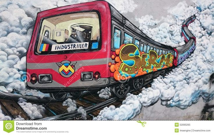 Urban Graffiti - Bucharest Old Subway Train Editorial Image .http://cbtopsites.com/find/tonyclark/fiction_ebooks..