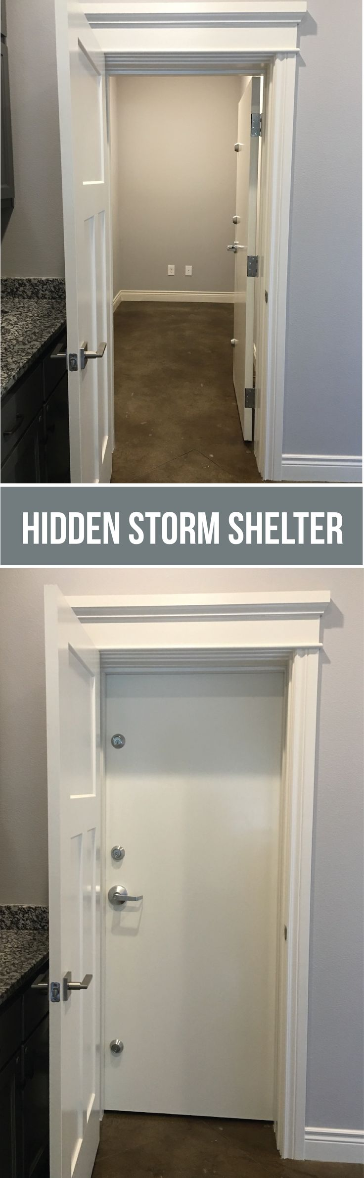 Best 25 storm shelters ideas on pinterest tornado for Hidden storm shelter