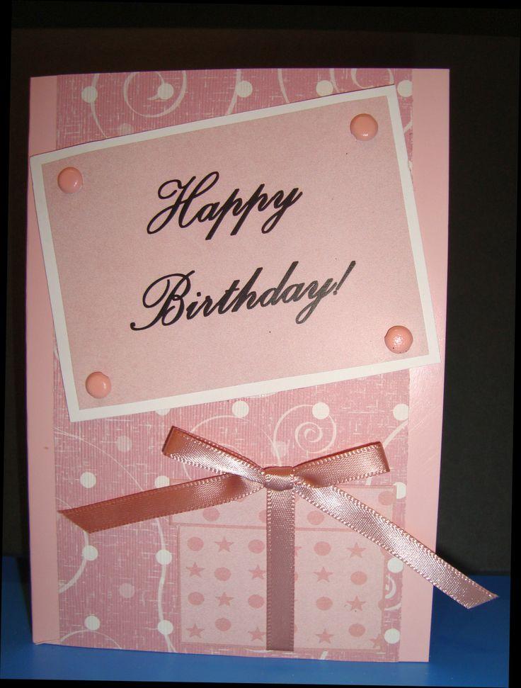Happy Birthday pink gift box - by Jenn Saunders