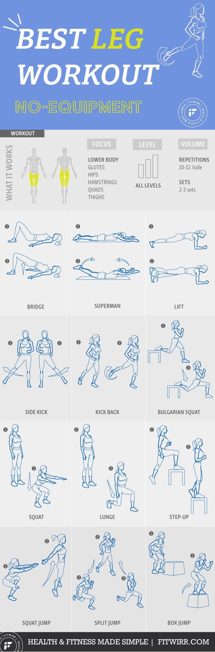 legs workout Here are leg exercises you can do at home with just a set of used dumbbells as well as complete leg workouts strong legs keep you healthy and injury free.