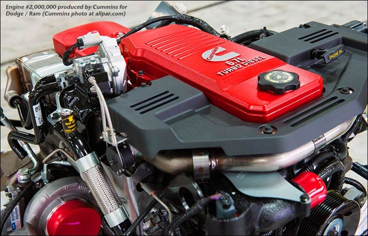 Cummins 5.9 liter and 6.7 liter inline six-cylinder diesel engines