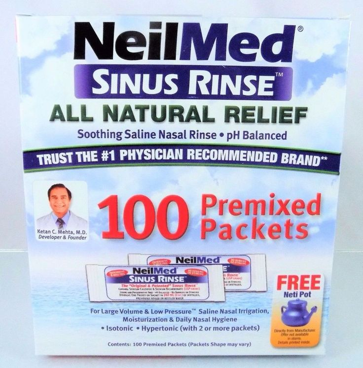 #NeilMed #soothing #saline #sinus nasal #rinse for all-natural relief pre-mixed packet lot/set of 100 count/piece from #1 physician recommended brand with simple, affordable, effective, drug-free, pH balanced and preservative-free formula, brand new & unused in original manufacturer's factory sealed red, white & blue cardboard protective retail box packaging…