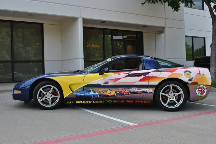 car wrap corvette - photo #17