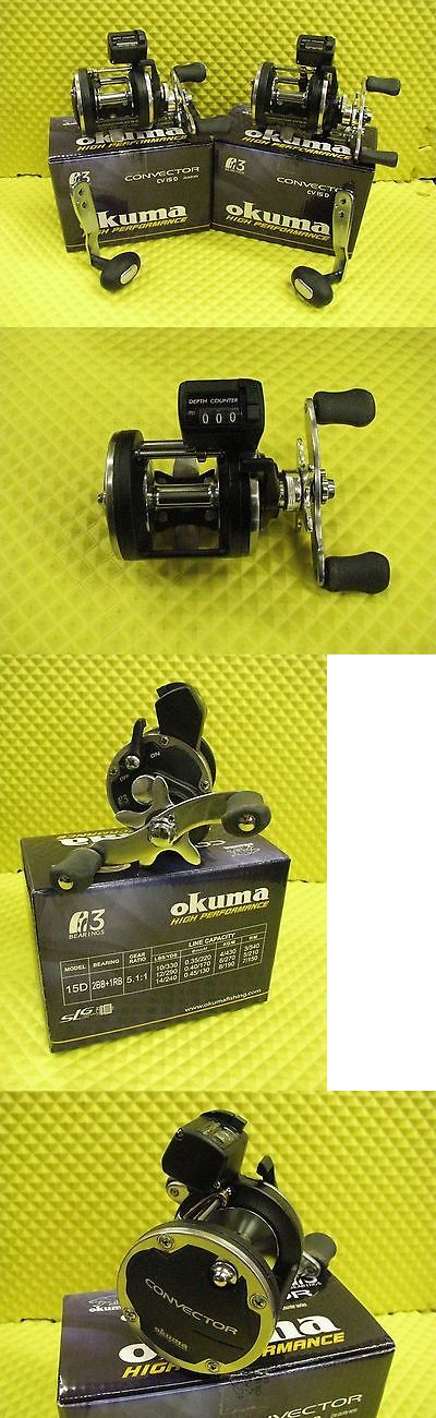 Other Fishing Reels 166159: Okuma Convector Cv 15D Line Counter Trolling Reel 2 Pack BUY IT NOW ONLY: $149.95