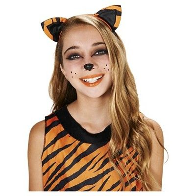 Tigress Tween Costume M(7-8), Girl's, Orange
