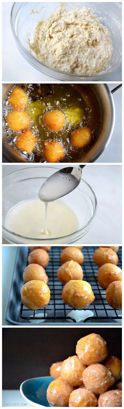 How To Make Easy Homemade Glazed Doughnut Holes