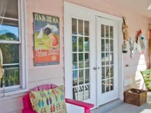 Barefoot Children Cottage-Mermaid Cottages Vacation Rentals-Tybee Island GA