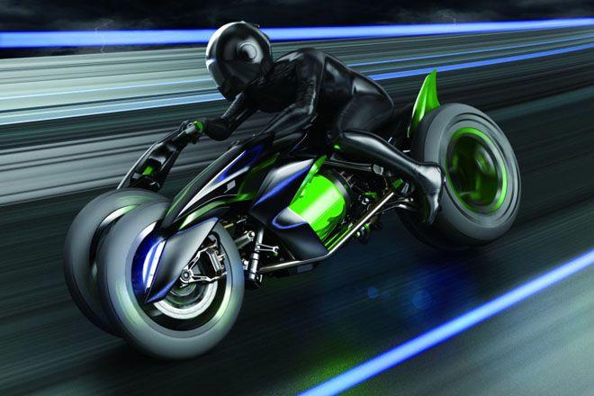 Kawasaki Concept Bike: La moto del futuro @alvarodabril