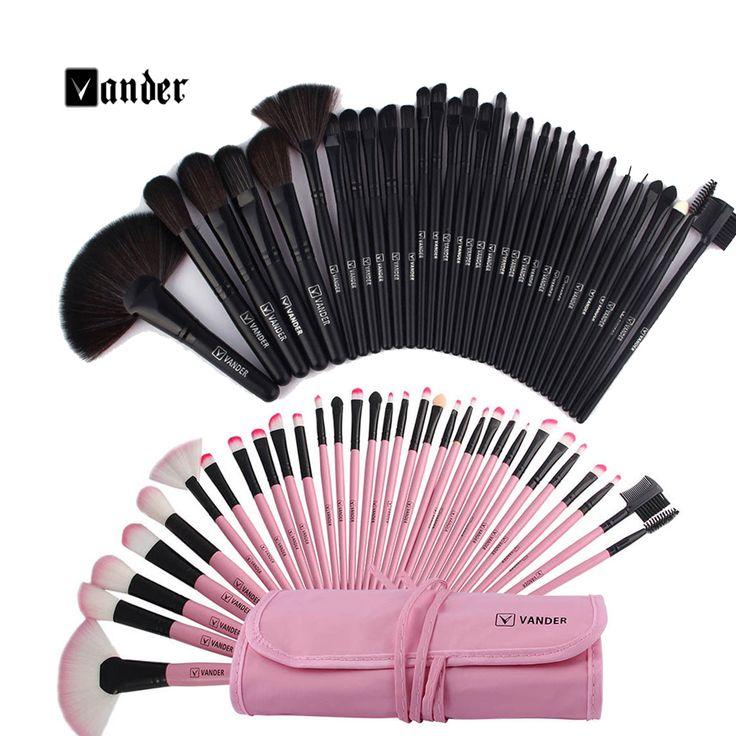 Makeup Brush Sets Kit+Pouch Bag    https://www.angelstore.online/makeup-brush-sets-kit-pouch-bag/  #cosmetic #cosmetics #TFLers #fashion