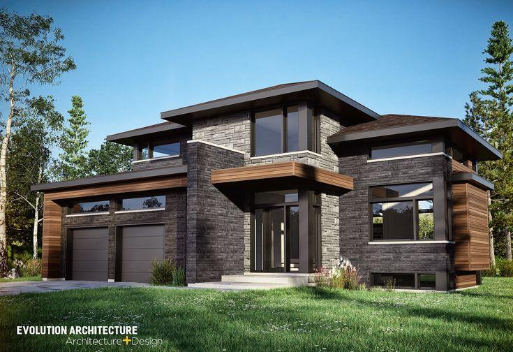 #Architecture#maison #contemporaine #création exclusive E-999 #moderne #design#concept