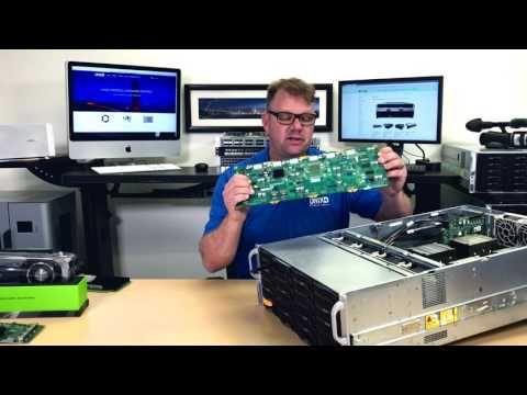 Supermicro 4U 24-Bay Storage Server X9QRi-F+ - VM, Network Sniffer, Video Editing - YouTube