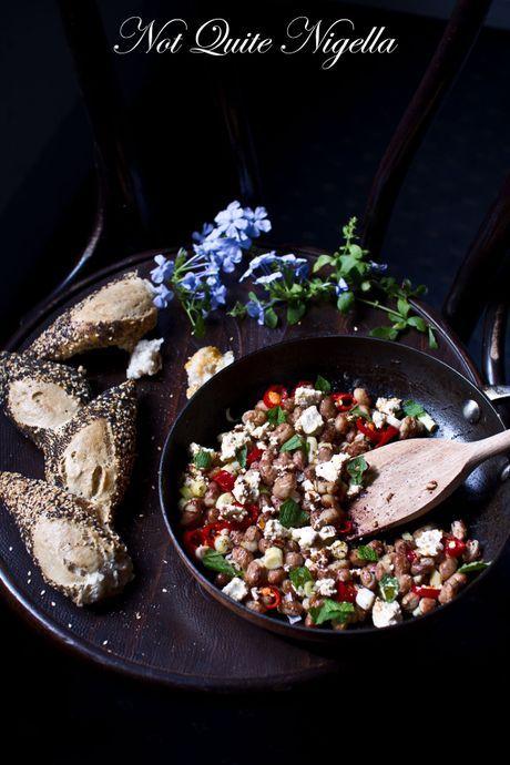 ottolenghi bean feta salad