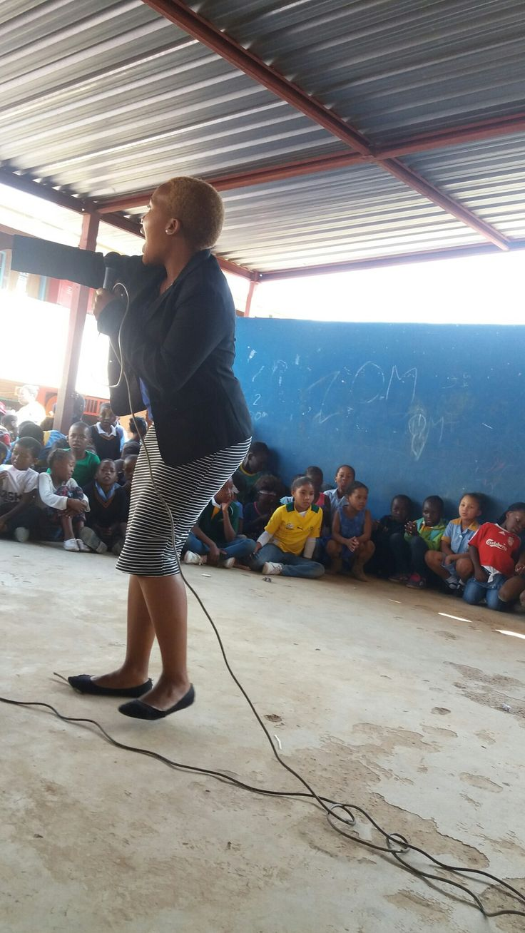 Guest speaker at Spectrum Primary School on Freedom day
