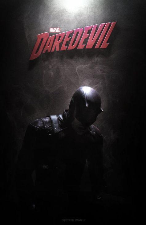 Daredevil (2015) - Poster Version 2 by CAMW1N on DeviantArt
