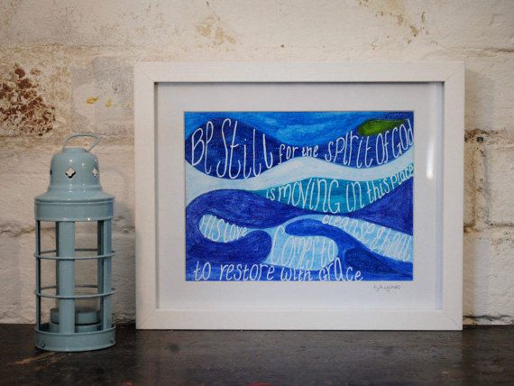 Bespoke Watercolour Painting  Christian Gift by ArtistHaideeHughes