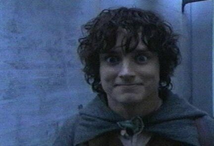 My face when someone mentions the Hobbit. Seriously. A friend secretly timed me once on how long it would take me to leave one conversation and join another once I heard them mention the Hobbit.