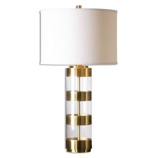 Shop for Uttermost Angora 1-light Brushed Brass Table Lamp and more for everyday discount prices at Overstock.com - Your Online Home Decor Store!