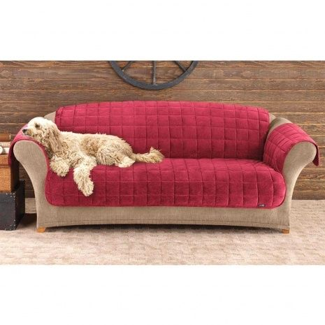 Sure Fit Deluxe Pet Sofa Cover