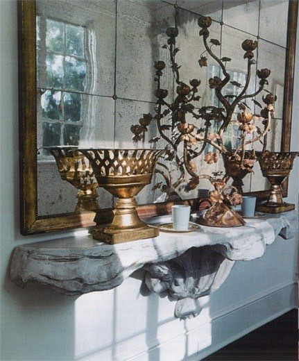 Mirror, Antiques, Eclectic