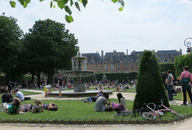 Hotspots in Le Marais