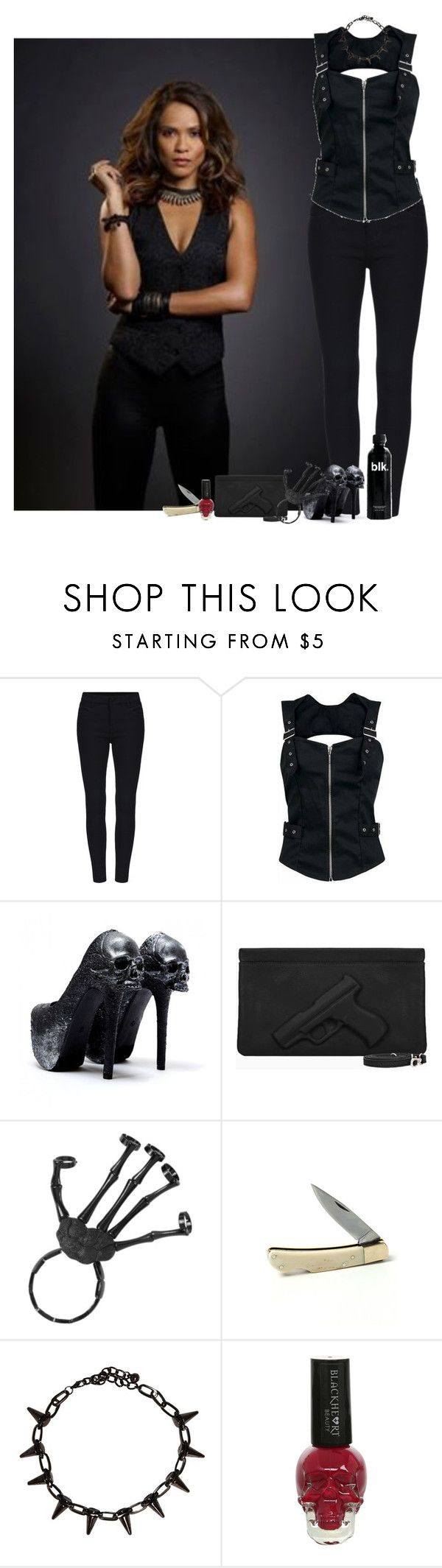"""Mazikeen"" by saradrobna ❤ liked on Polyvore featuring Blackbird, Lucifer, maze and mazikeen"