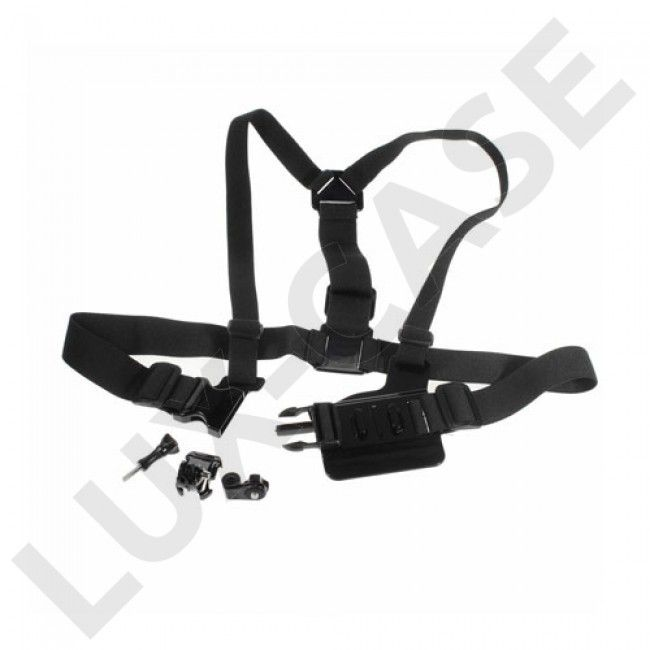 Detachable Body Chest Strap With Screw Lock For GoPro - Black - Hero - GoPro - Diverse - GRATIS FRAKT!