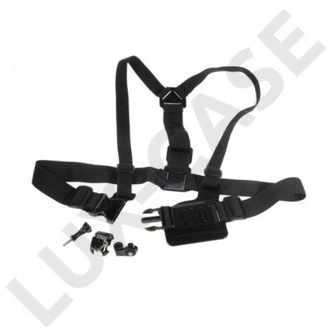 Detachable Body Chest Strap With Screw Lock For GoPro - Black - Hero - GoPro - Diverse - GRATIS FRAKT!