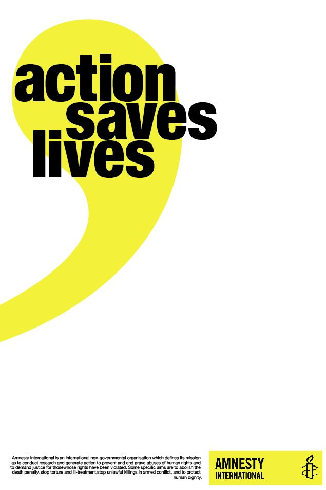 Amnesty International poster 1