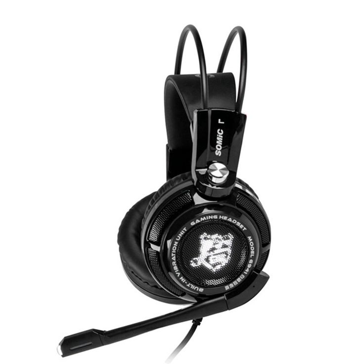 Original Somic G941 USB Game Headphones Headset Bass Stereo Surround Sound Music Gaming Headphone With Microphone For PC Laptop