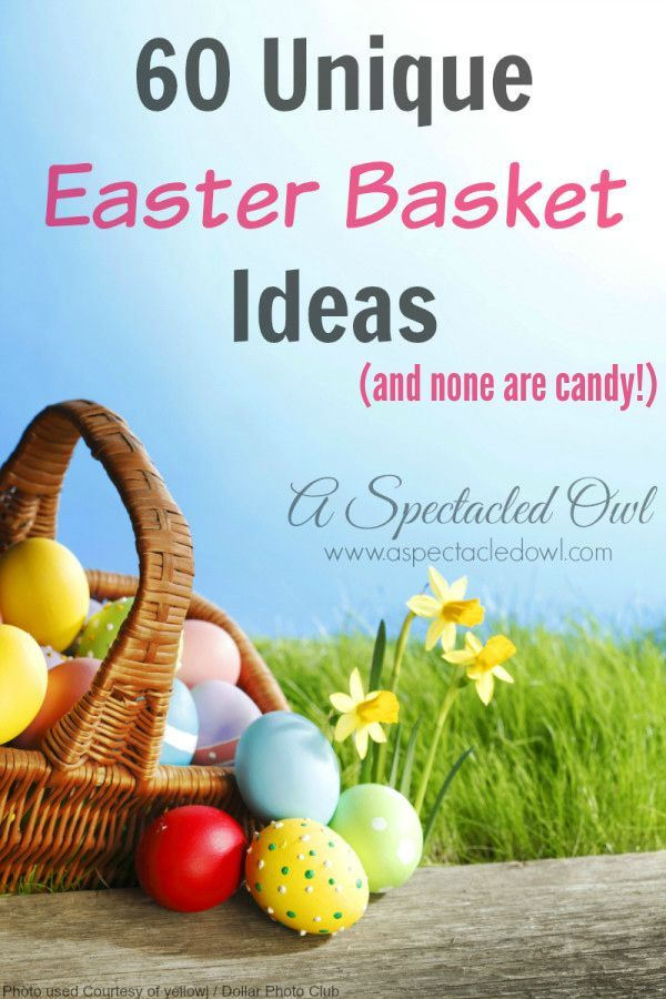 Best 25 easter baskets ideas on pinterest easter easter 60 unique non candy easter basket ideas negle Gallery