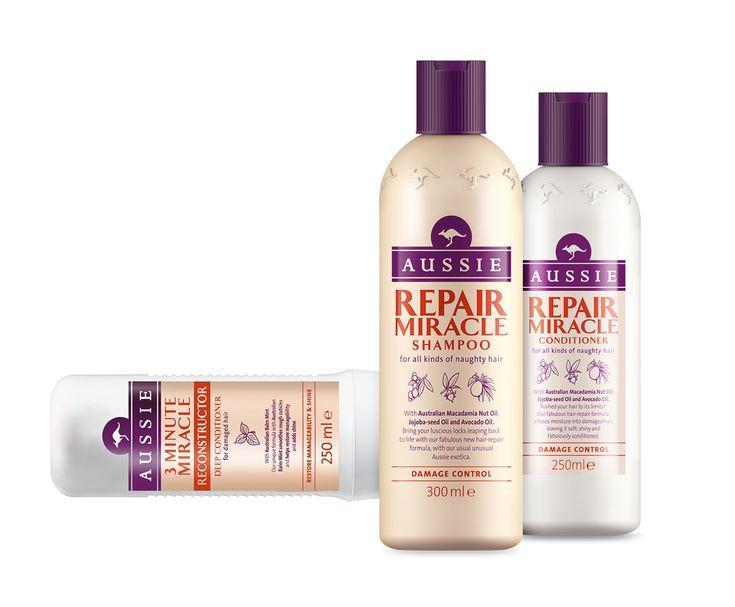 Διαγωνισμός: Το JOY και η AUSSIE χαρίζουν σε 50 τυχερές τη σειρά περιποίησης μαλλιών Repair Miracle