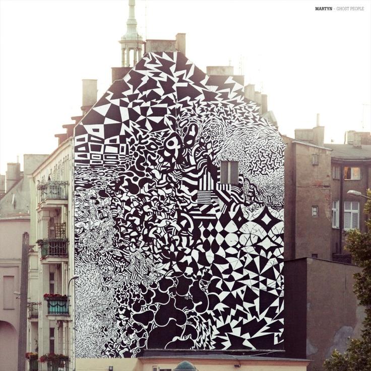 50 best poznan street art images on pinterest street art for Outer space urban design