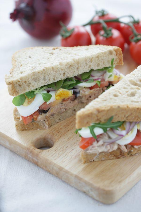 Gluten Free Tuna Niçoise Sandwich | Let's Lunch Gluten Free | Pintere ...