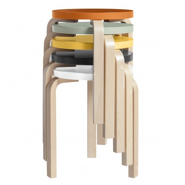stool 60 / Alvar Aalto / ARTEK