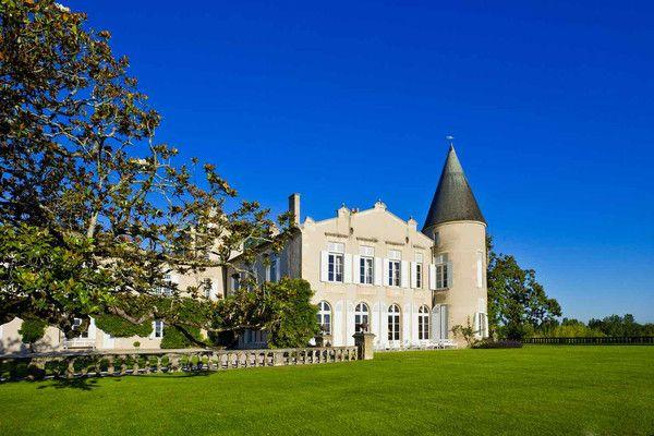 Bordeaux-Legende Château Lafite Rothschild in Pauillac