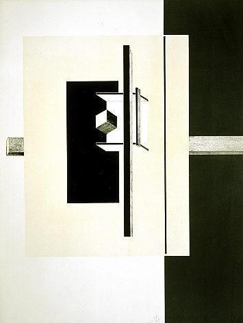 Proun. 1st Kestner Portfolio by El Lissitzky