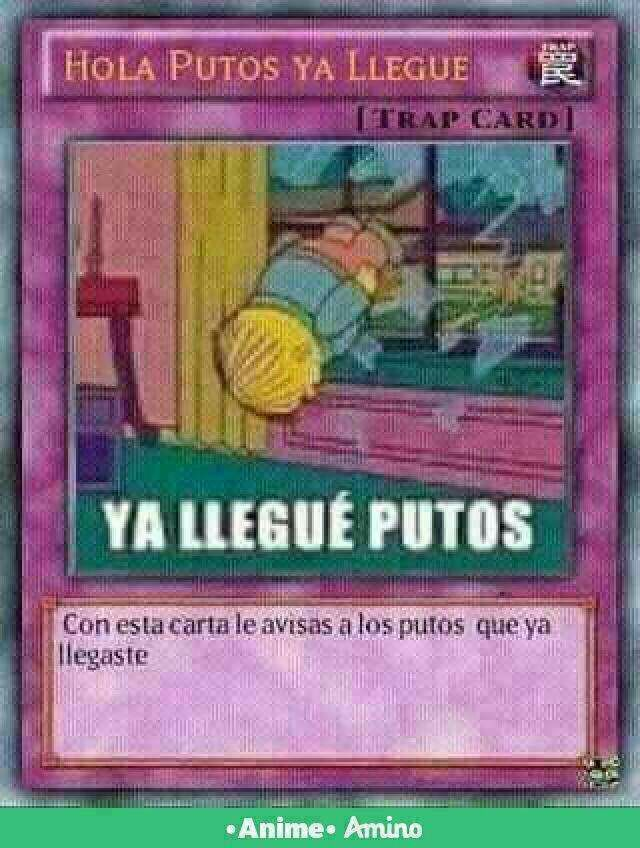 ia llegue putos