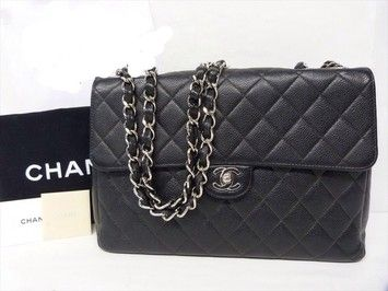 Chanel Jumbo Caviar Single Flap Shoulder Bag. Get one of the hottest styles of the season! The Chanel Jumbo Caviar Single Flap Shoulder Bag is a top 10 member favorite on Tradesy. Save on yours before they're sold out!