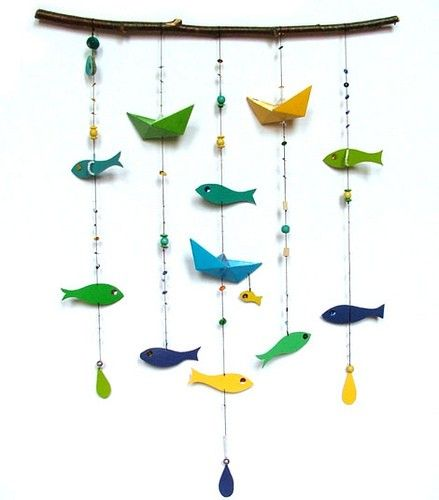 This would be cool to do with fishing lures for someone crazy about fishing!