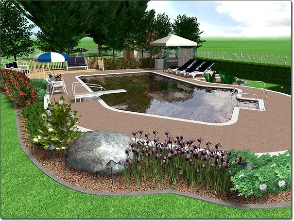 1000 images about pool backyard ideas on pinterest for Pool garden edging