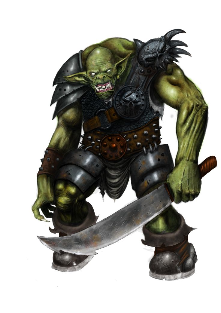 Troll Nº 2. Sword Warrior