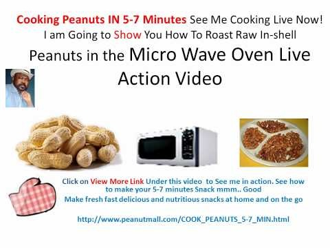 Lets eat in 5-7 minutes from scratch  NUTS ROASTED QUICKS:  SEE BIG PEACH BUDS CANDY SALE: http://peanutmall.com/REGISTRATION_PAGE_FOR_DISOUNTS.html